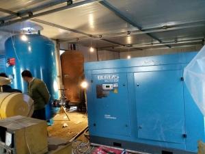 开山BKL132-8GH螺杆空压机进驻西北某隧道工程